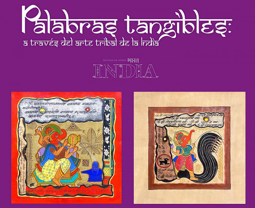 Palabras tangibles, a través del arte tribal de la India